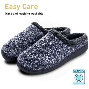 6c8b9bc4e67b Dasein Shoes - Dasein Men s Soft Lined Suede House Slippers